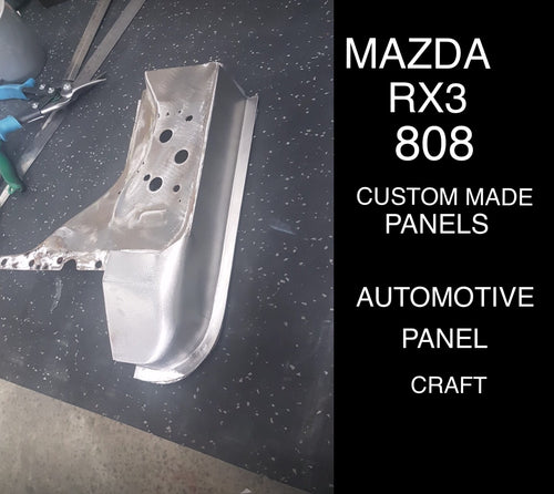 FITS MAZDA RX3/808 COUPE /SEDAN BOTTOM OF THE DOOR PILLAR