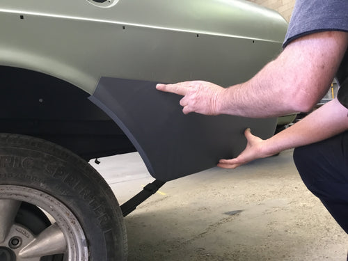 FITS FORD XR LOWER REAR QUARTER PANEL