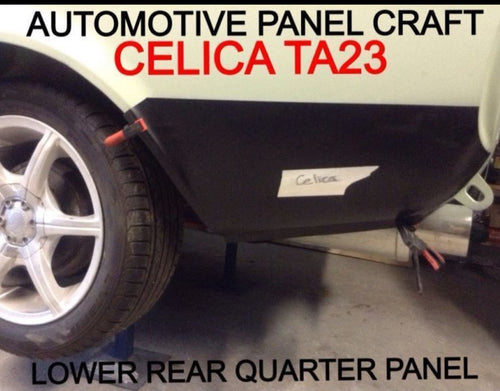 TOYOTA CELICA TA23 LOWER REAR QUARTER