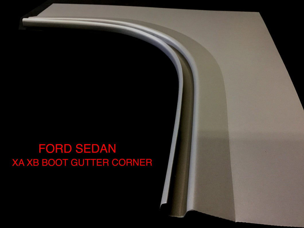 FORD SEDAN XA XB TOP OF BOOT GUTTER CORNERS EXTRA LARGE