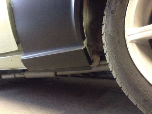 TOYOTA CELICA TA23 DOGLEG/ DOOR TO WHEEL ARCH RUST REPAIR