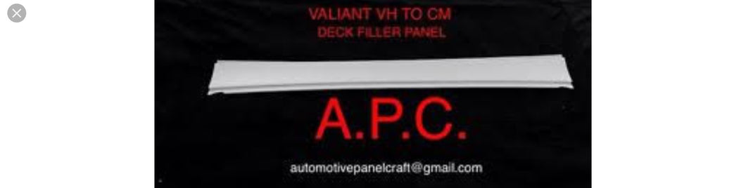 VALIANT VH TO CM DECK FILLER PANEL