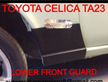 TOYOTA CELICA LOWER FRONT GUARD RUST REPAIR