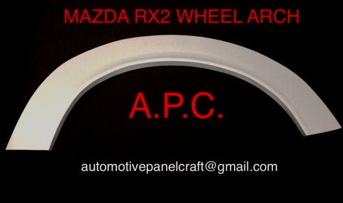 MAZDA RX2 WHEEL ARCH RUST REPAIR