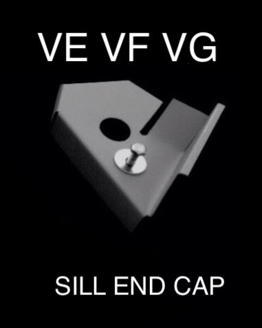 VE VF VG FRONT OF SILL END CAP ONLY