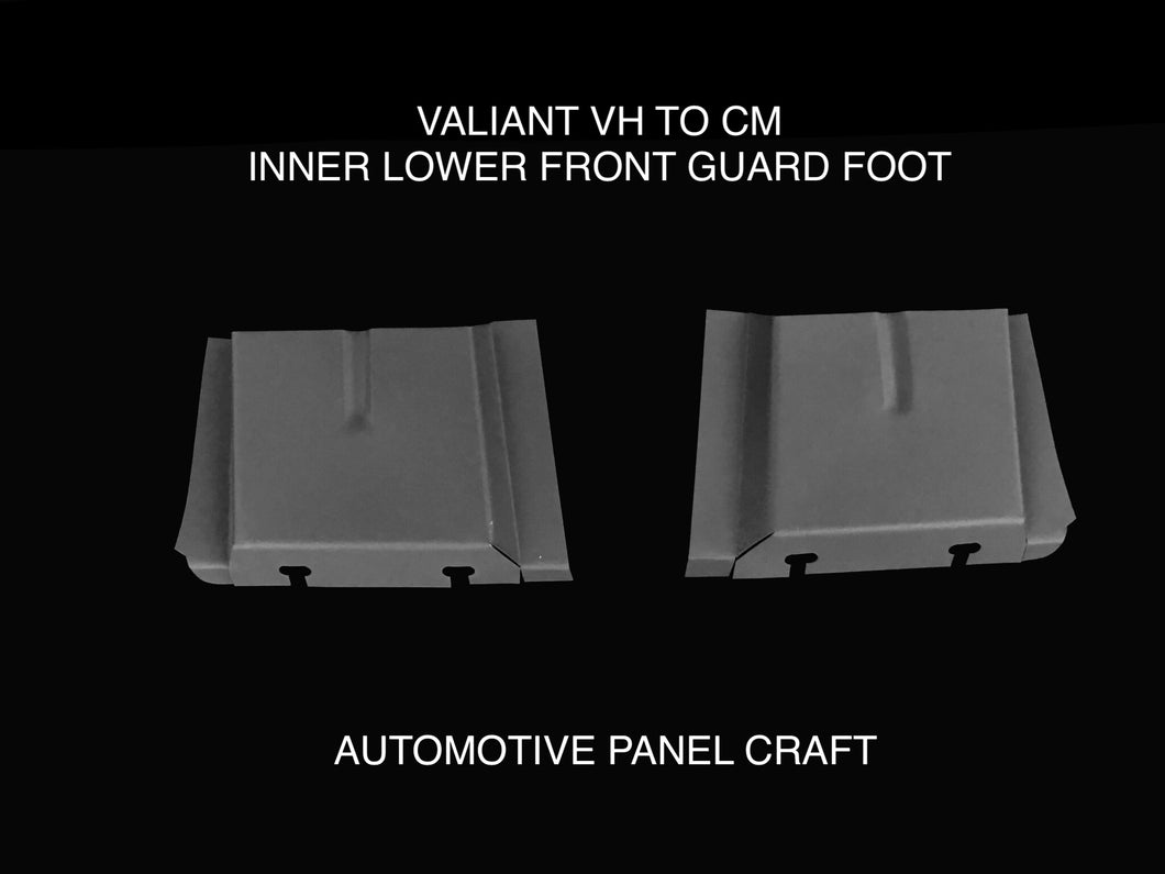 FITS VALIANT VH TO CM  LOWER INNER FRONT GUARD FOOT