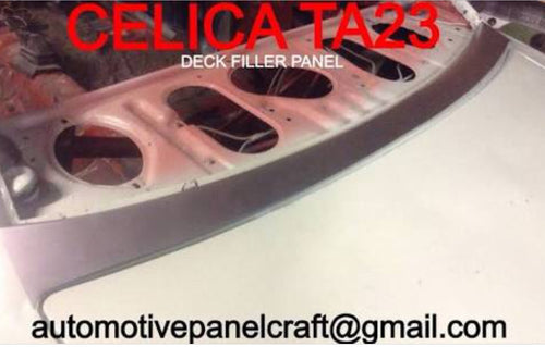 TOYOTA CELICA TA23  DECK FILLAR PANEL