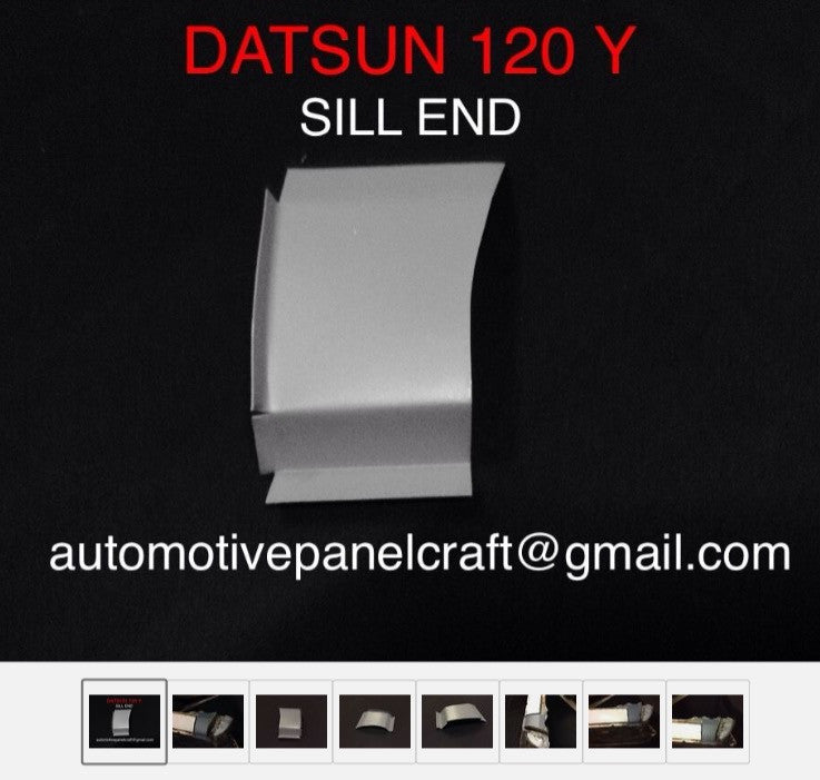 DATSUN 120Y/B210 FRONT OF SILL END