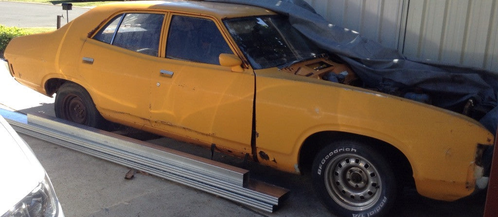 FORD FALCON SEDAN XA XB  LOWER FRONT DOOR SKINS