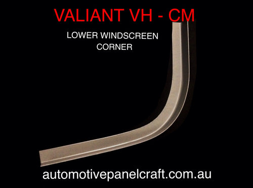 VALIANT VH-CM WINDSCREEN CORNER