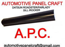 DATSUN ROADSTER/FAIRLADY  SILL WITHOUT STEP SPL310 SPL311 1500 1800 2000