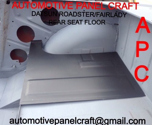 DATSUN ROADSTER  REAR SEAT FLOOR