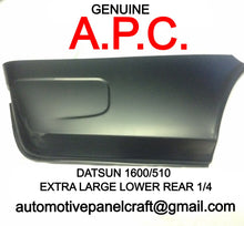 DATSUN 1600/510 SSS CUSTOM MADE EXTRA LARGE LOWER REAR QUARTER