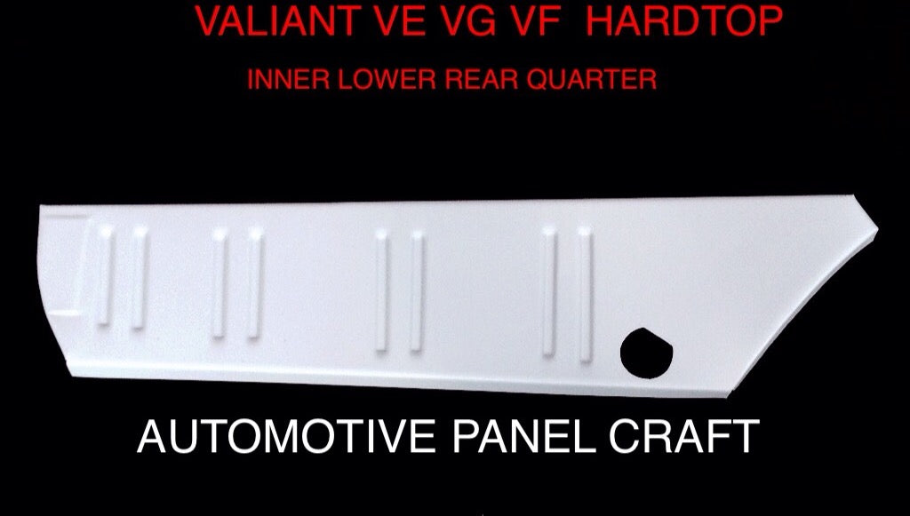 VALIANT VF VG HARDTOP INNER QUARTER RUST REPAIR PANEL