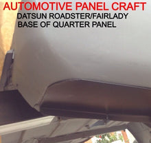 DATSUN ROADSTER BASE OF QUARTER PANEL