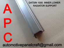 DATSUN 1000 INNER LOWER RADIATOR SUPPORT
