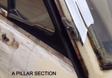 DATSUN 1200 COUPE A PILLAR DRIP RAIL