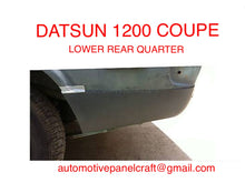 DATSUN 1200 COUPE LOWER REAR QUARTER