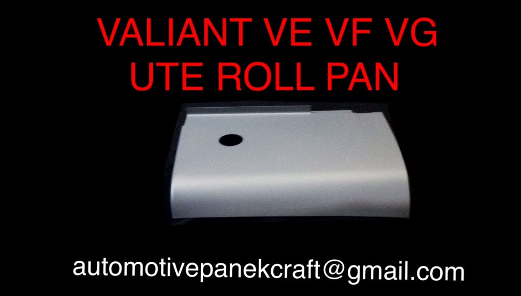 VALIANT VE VF VG UTE ROLL PANS