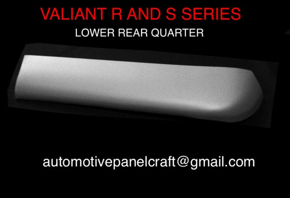VALIANT R & S SERIES LOWER REAR QUARTER