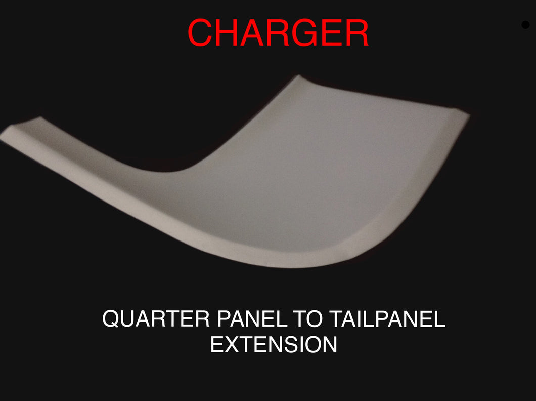 VALIANT CHARGER QUARTER PANEL TO TAIL PANEL EXTENSION