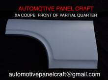 FORD FALCON XA XB XC COUPE FRONT OF PARTIAL QUARTER PANEL