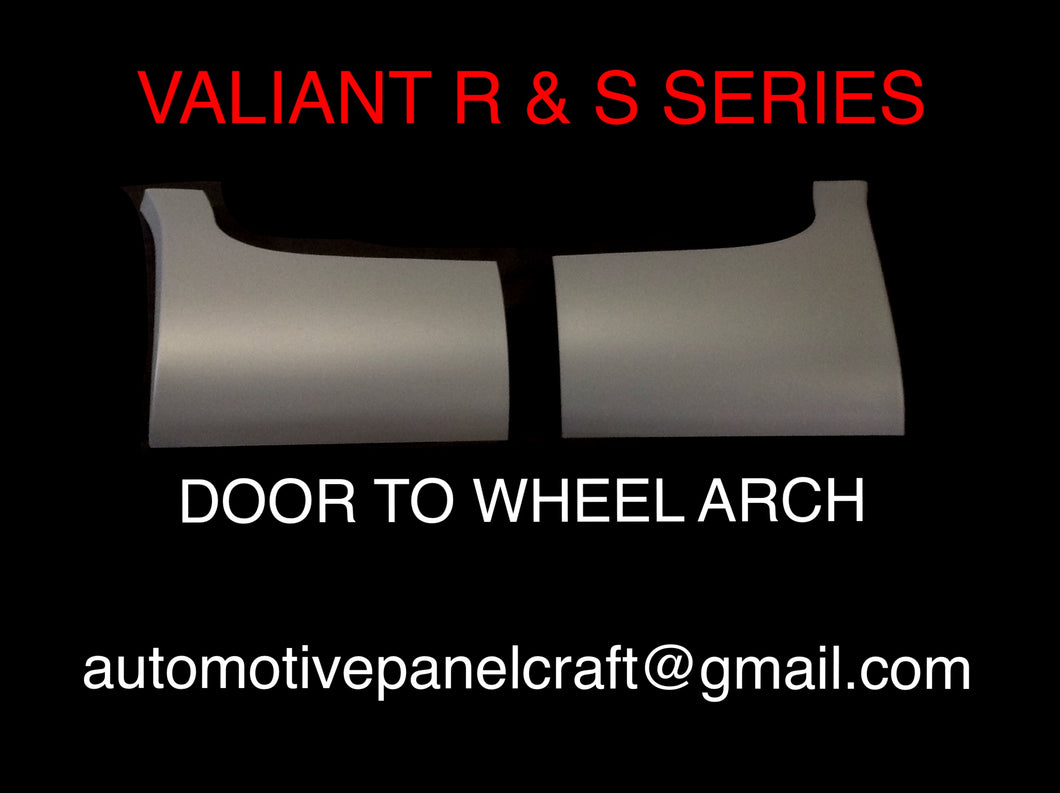 VALIANT R & S SERIES DOOR TO WHEEL ARCH/DOGLEG