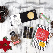 Our Awesome Christmas Hamper is filled with sweet treats like Peppermint Candycane, Happy Jackson Chocolate Card, Traditional Aberffraw Biscuits and Green and Black's Organic Cocoa Powder that will warm and fill the hearts of your loved ones with endless joy this Christmas