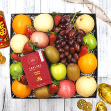 Chinese New Year Tea and Fruit Hampers. Free delivery within Singapore.