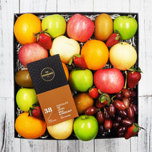 The Providore Milk an Hazelnut Chocolate Bar with Fruit Hampers. Free delivery within Singapore.