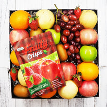 Strawberry and Apply Fruity Crisp with Fruit Gift Hamper. Free delivery within Singapore.