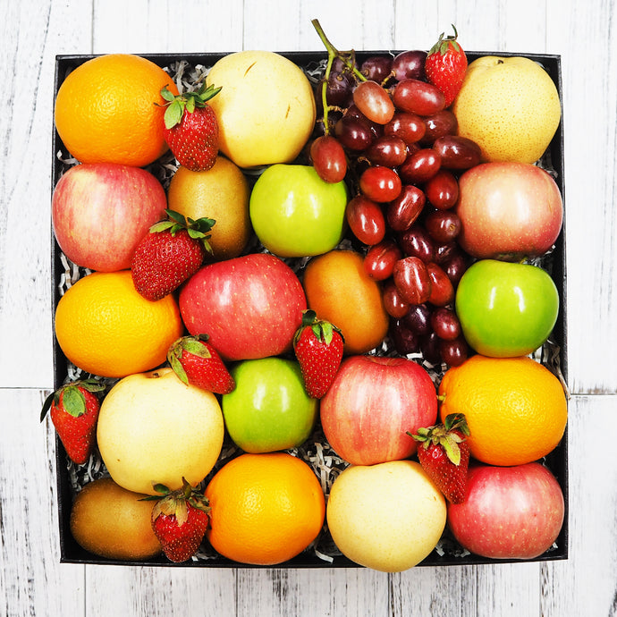 Healthy Fruit Gift Hamper Box. Free delivery within Singapore.
