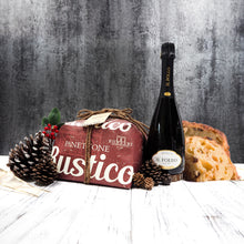 You can't go wrong with gifting with our Wine & Rustico Panettone Gift Set. Simple but elegant as a gift!