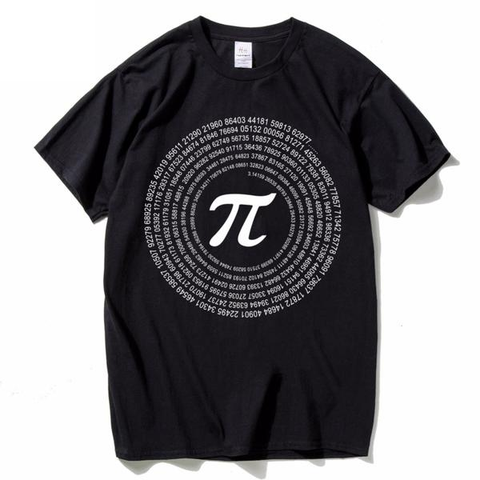 New PI Math T-Shirts 100% Cotton - Secure Wallet & Phone