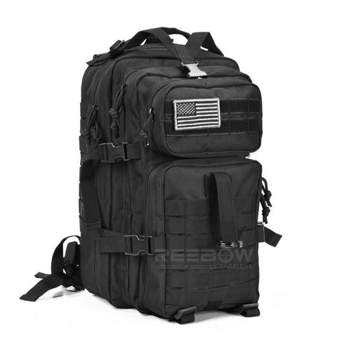 34L Outdoor Hiking Camping Backpack MOLLE - Secure Wallet & Phone