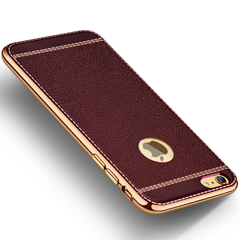 Burgundy Silicone Phone Case For iPhone 6 6s plus 7 7 - Secure Wallet & Phone