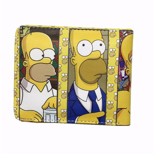 Gravity Falls, Bill Cipher, The Simpsons, Street Fighter & Sonic Wallets - Secure Wallet & Phone