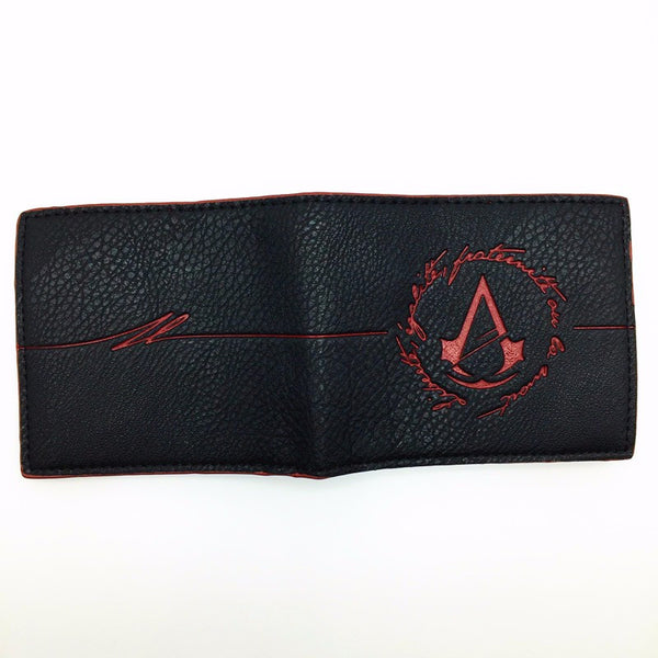 Assassins Leather Wallet - Secure Wallet & Phone