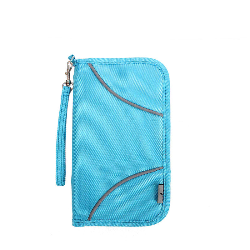 Women's Passport Holder Wallet with RFID Blocking Technology - Secure Wallet & Phone