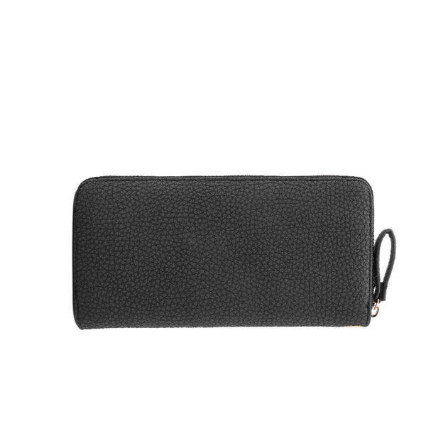 Women's Casual Wallet with Zipper & Bow-knot - Secure Wallet & Phone
