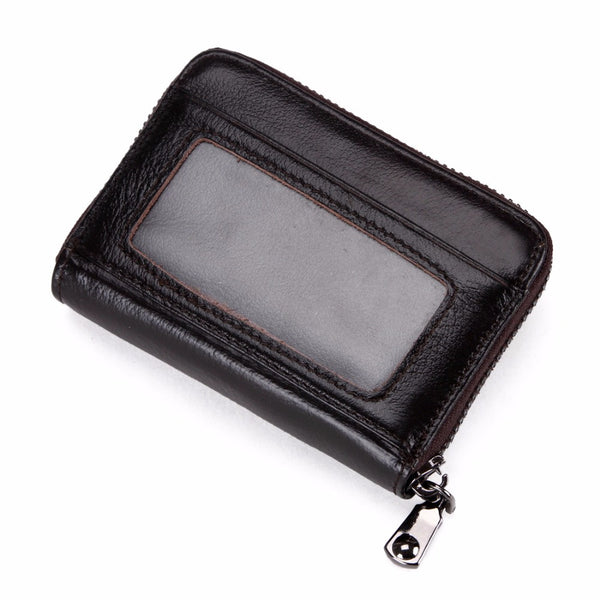 VICUNA POLO Leather Wallet & Card Holder - Secure Wallet & Phone