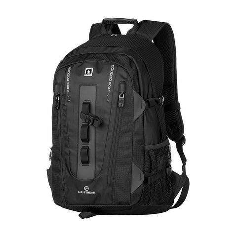 Large Capacity Travel Backpack - Secure Wallet & Phone