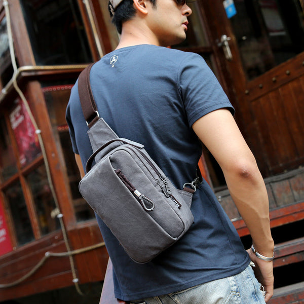 Large Shoulder Strap Bag - Secure Wallet & Phone