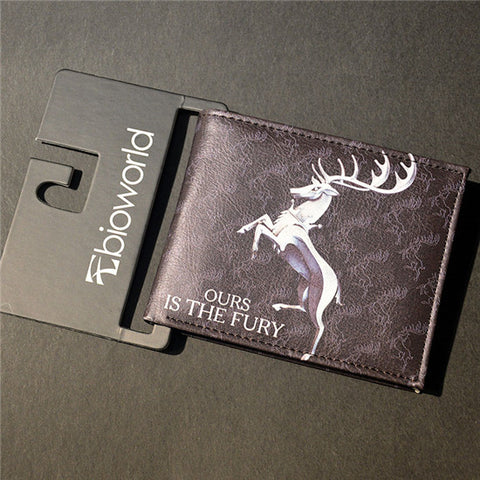 Winter is Coming Wallet with Card Holder - Secure Wallet & Phone