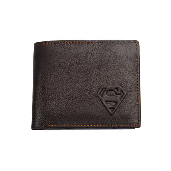 Dark Knight & Superman Leather Wallets - Secure Wallet & Phone