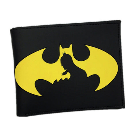 Animated Batman Style Wallets - Secure Wallet & Phone