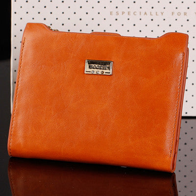 Women's Leather Coin Purse Wallet - Secure Wallet & Phone