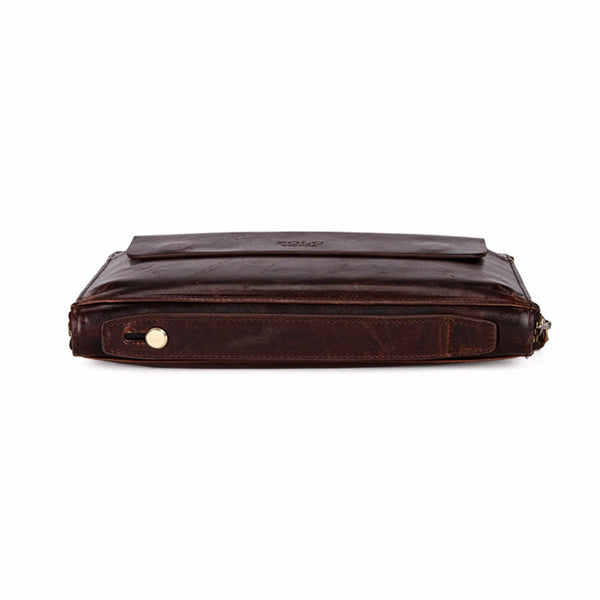 VICUNA POLO Men's Leather Multi-functional Business Wallet - Secure Wallet & Phone