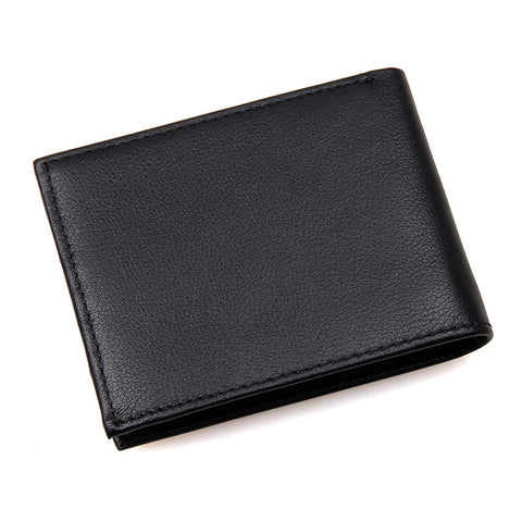 Casual Leather Wallet with RFID Signal Blocking Technology - Secure Wallet & Phone