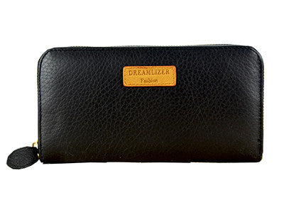 Women's Dreamlizer Leather Wallet Coin Purse with RFID Blocking Technology - Secure Wallet & Phone